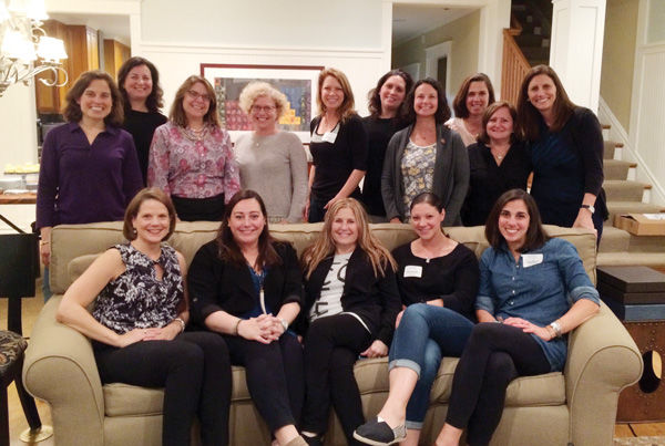 St. Louis women selected for this year's Jewish Women's Renaissance Project are shown at a pre-trip meeting.