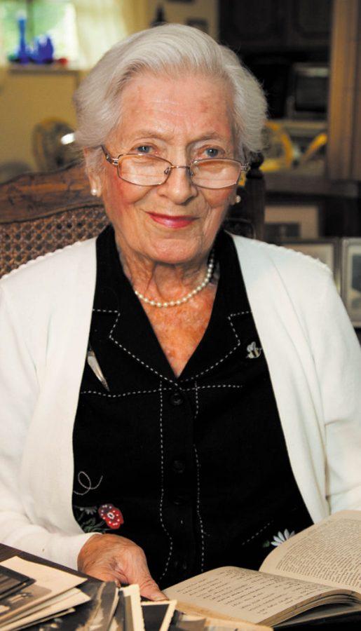 Elsie Hirsch Levy in a 2011 Jewish Light file photo. Photo: Kristi Foster