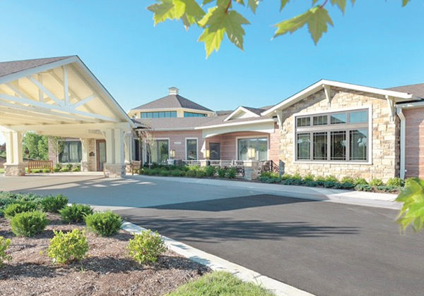 Evelyn's House, a 16-bed hospice home located on the campus of Barnes West, opened in June.
