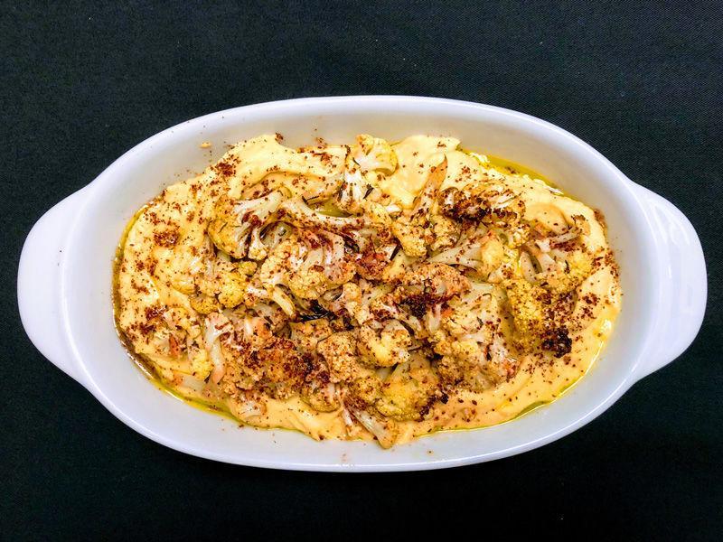 Hummus with Roasted Cauliflower