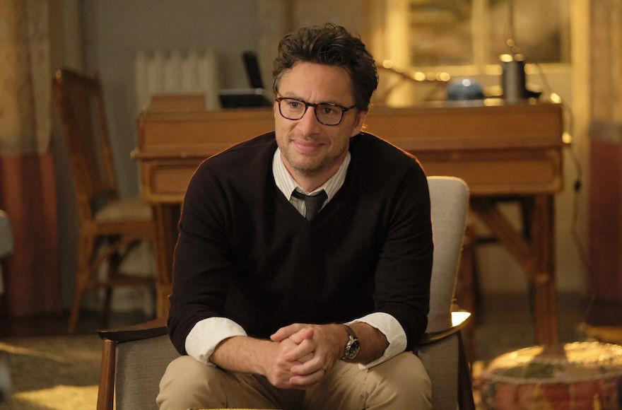 """Zach Braff stars in the new ABC sitcom """"Alex, Inc."""" (ABC/Tony Rivetti)"""