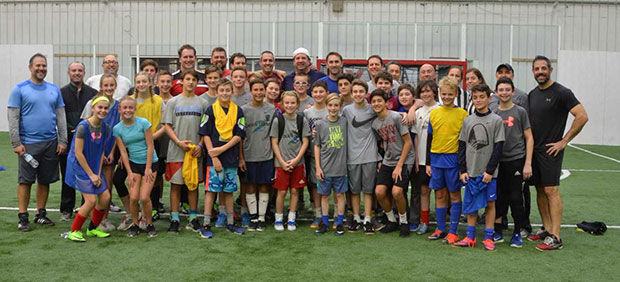 All participants in the soccer tournament.