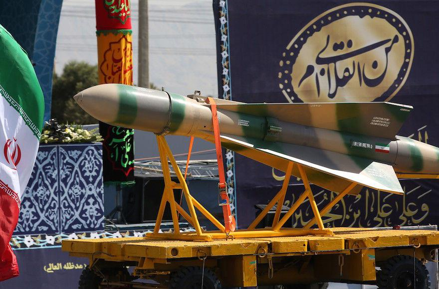 A+ballistic+missile+seen+at+a+military+parade+in+Tehran%2C+Iran%2C+Sept.+22%2C+2017.+%28Fatemeh+Bahrami%2FAnadolu+Agency%2FGetty+Images%29