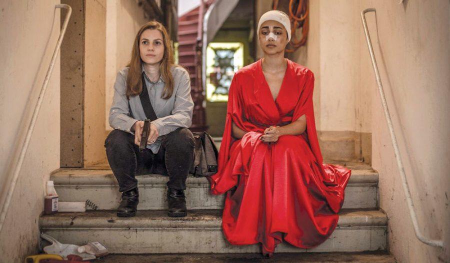 Neta Riskin and Golshifteh Farahani in the Israeli thriller 'Shelter.'