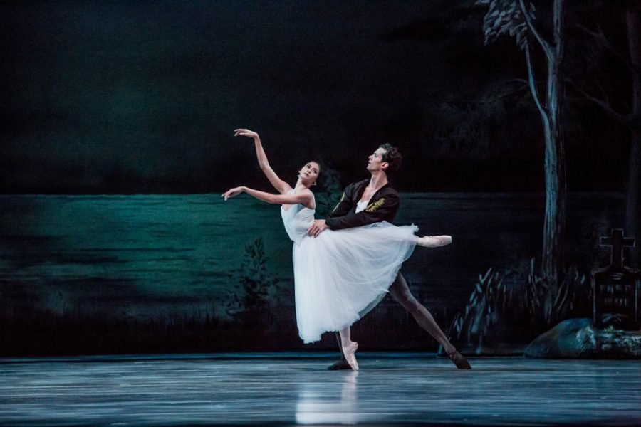Christine Rocas and Dylan Gutierrez of the Joffrey Ballet, one of the dance companies taking part in Dance St. Louis' Spring to Dance festival held Memorial Day weekend.