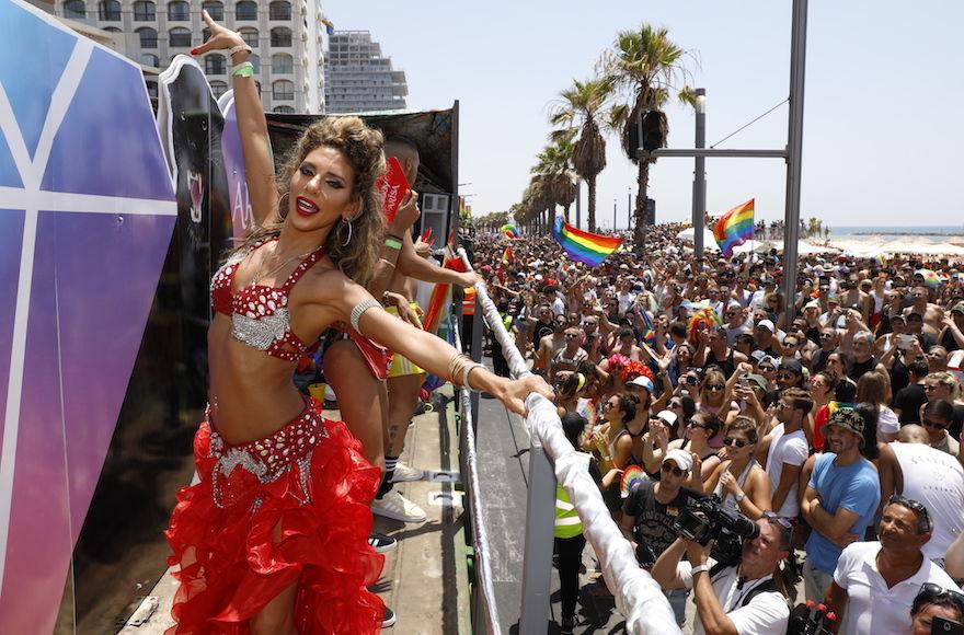The+Pride+Parade+in+Tel+Aviv+is+the+largest+of+its+kind+in+the+region.+%28Guy+Yechiely%29
