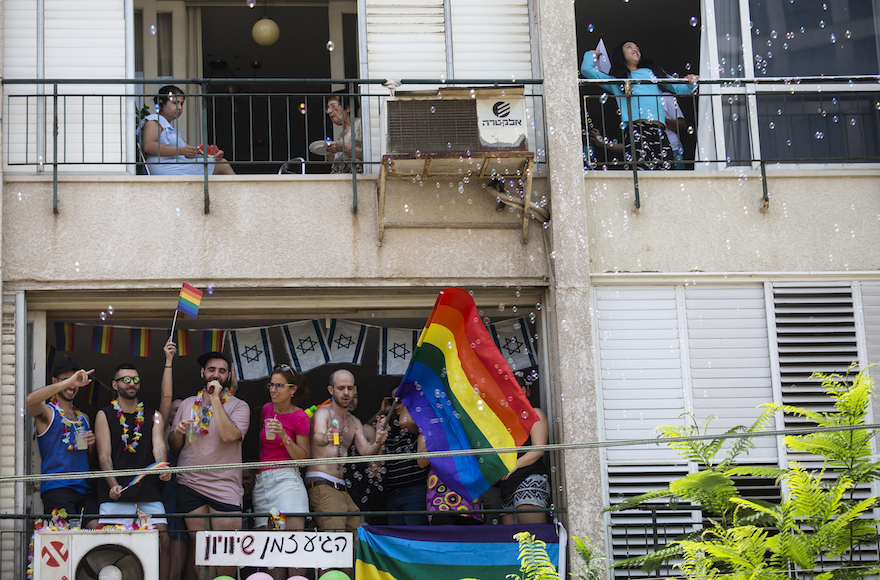 Revelers+take+part+in+the+annual+Pride+Parade+in+Tel+Aviv%2C+June+8%2C+2018.+%28Amir+Levy%2FGetty+Images%29