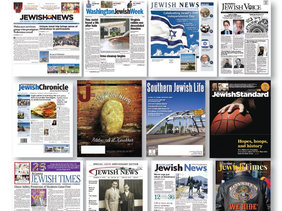 A+few+of+the+Jewish+publications+serving+communities+across+the+country.%C2%A0%C2%A0