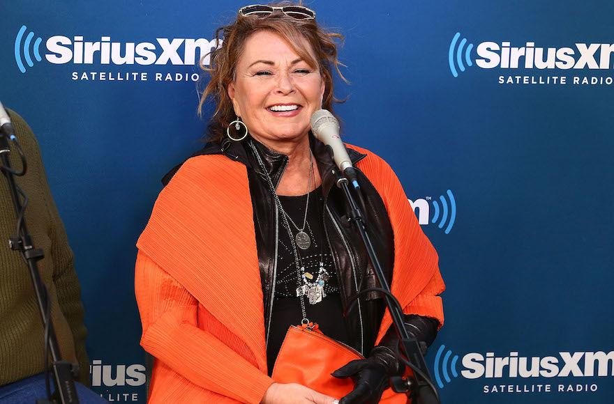 Roseanne+Barr+at+a+SiriusXM+Town+Hall+interview+in+New+York%2C+March+27%2C+2018.+%28Astrid+Stawiarz%2FGetty+Images+for+SiriusXM%29