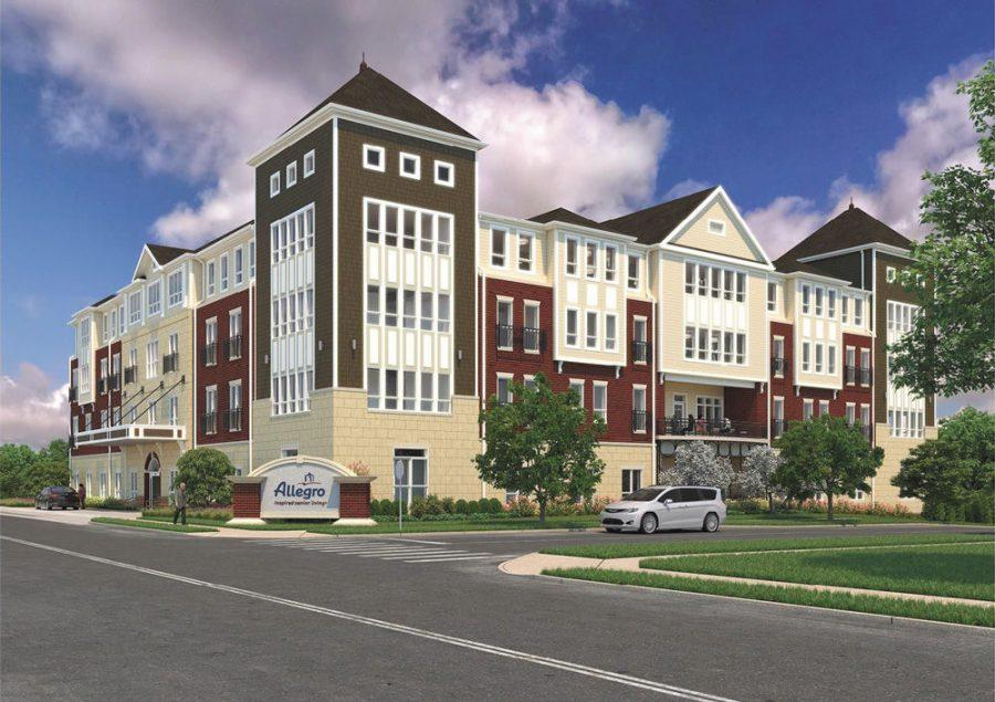 A new multi-story retirement community center owned by the St. Louis-based company Allegro is opening in Richmond Heights. The owners say the complex will feature upscale 'boutique' amenities.