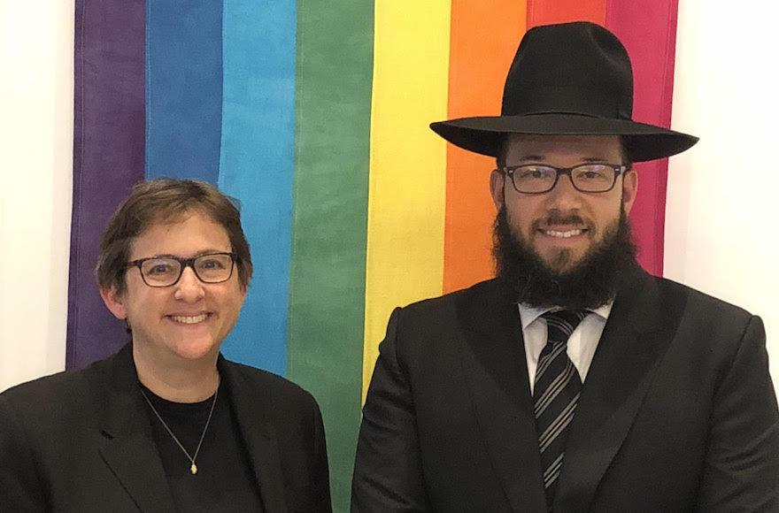Rabbi+Sharon+Kleinbaum+and+Rabbi+Mike+Moskowitz