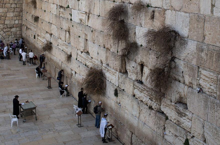 People+praying+at+the+Western+Wall+in+the+Old+City+of+Jerusalem%2C+Jan.+17%2C+2017.+%28Chris+McGrath%2FGetty+Images%29