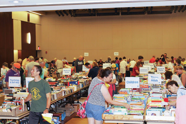 The Jewish Community Center will hold its 2018 summer used book sale Aug. 12-16.