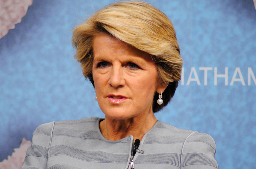 Julie+Bishop%2C+Australia%E2%80%99s+minister+for+foreign+affairs%2C+speaks+at+Chatham+House+in+London%2C+March+12%2C+2014.+%28Chatham+House%2FFlickr%29