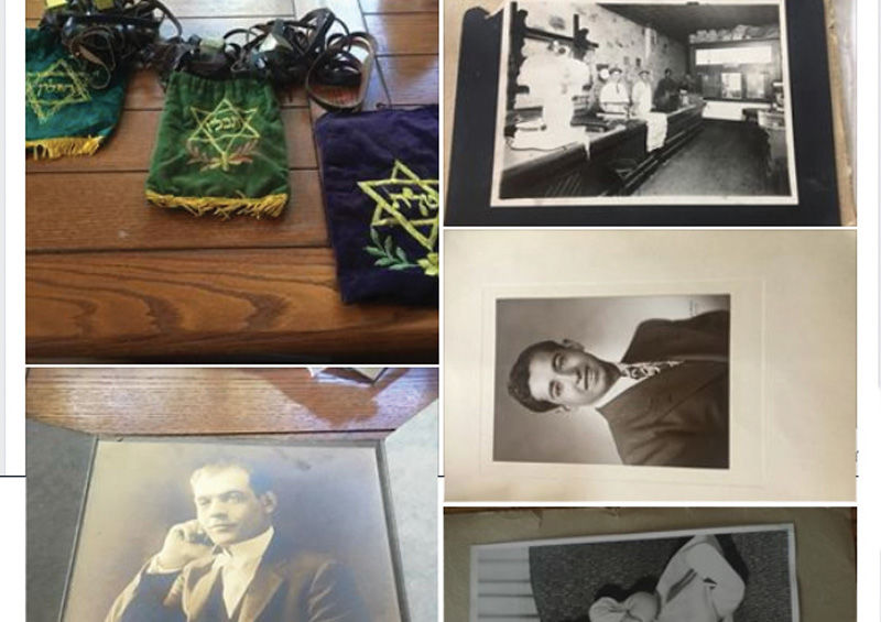 At+a+local+thrift+store%2C+Corinne+Char+came+upon+two+tefillin+sets+and+a+trove+of+old+family+photos.+Through+a+widely+shared+Facebook+post%2C+Char+was+able+to+locate+relatives+of+people+pictured%2C+and+she+returned+the+Judaica+and+the+images.