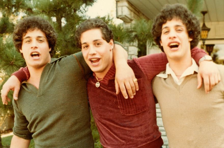 %E2%80%9CThree+Identical+Strangers%E2%80%9D+is+a+documentary+about+triplets+separated+at+birth+by+a+Jewish-affiliated+adoption+agency+in+1961.+%28Courtesy+of+NEON%29