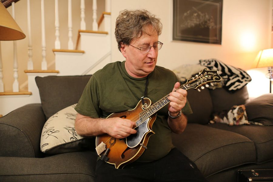 Mandolin+player+Joel+Ferber+has+been+performing+bluegrass+music+for+more+than+30+years.%C2%A0Photo%3A+Bill+Motchan%C2%A0