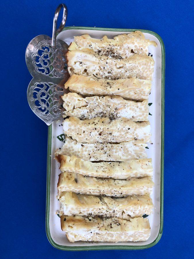 Greek Pasta Kugel. Photo: Michael Kahn