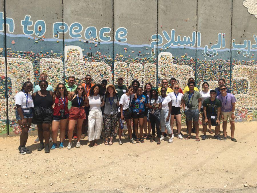 Hillel at Washington University organized an August trip to Israel for non-Jewish students. During the 10-day trip, the 19 non-Jews and four Jews traveled throughout the Jewish State, including to Netiv HaAsara, a town just north of the border with Gaza that is frequently the target of rockets.