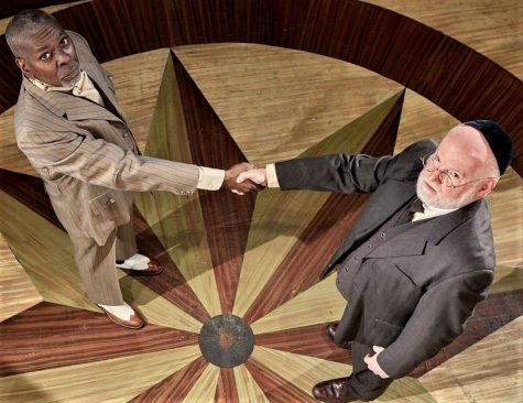 Jerome Davis and Gary Wayne Barker star in the New Jewish Theatre's production of 'District Merchants.' Photo: Eric Woolsey
