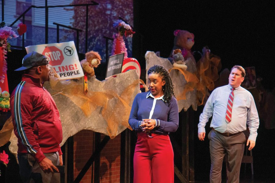 The Black Rep presents 'Canfield Drive' through Jan. 27 at the Edison Theatre on the Washington University campus. Photo: Peter Spack