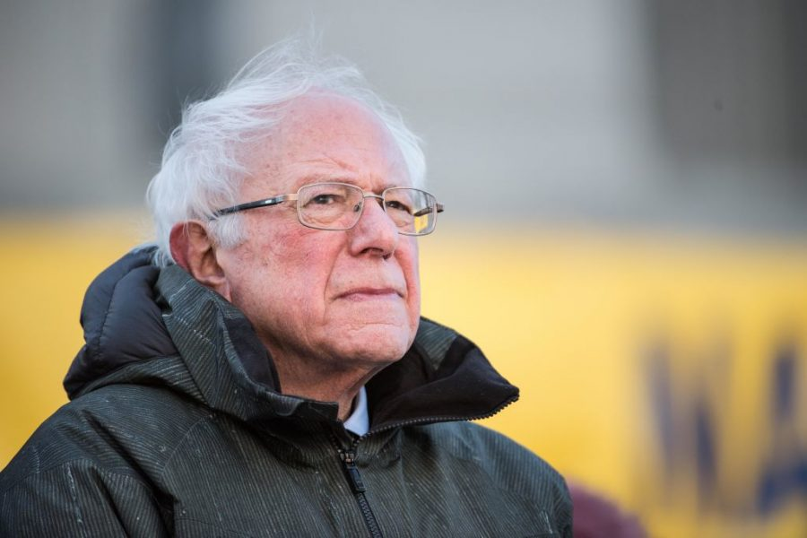 Observers say Bernie Sanders has helped make it kosher to criticize Israel within the Democratic Party. (Sean Rayford/Getty Images)