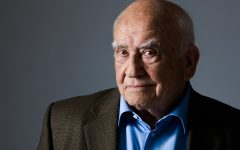 Ed Asner will star in The Soap Myth on Thursday, May 2 at Temple Israel.