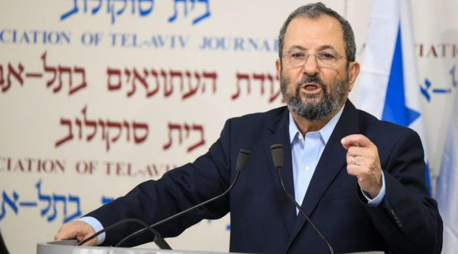 Ehud+Barak%2C+a+former+prime+minister+of+Israel%2C+announces+the+establishment+of+a+new+political+party+that+he+will+lead%2C+in+Tel+Aviv%2C+June+26%2C+2019.+%28Flash+90%29%C2%A0
