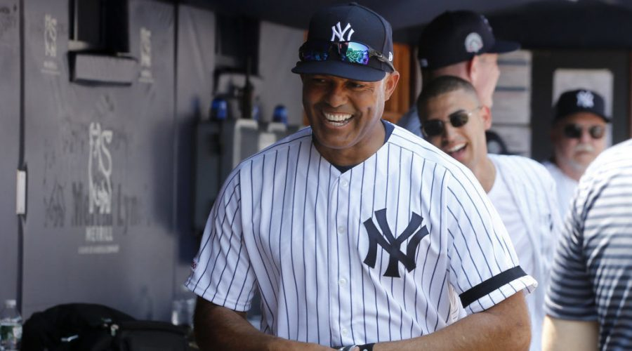 Mariano+Rivera%2C+shown+at+Yankee+Stadium+on+June+23%2C+2019%2C+has+been+to+Israel+twice.+Photo%3A+Jim+McIsaac%2FGetty+Images