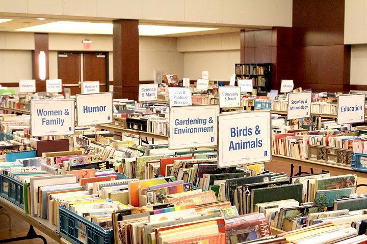 JCC+Used+Book+Sale