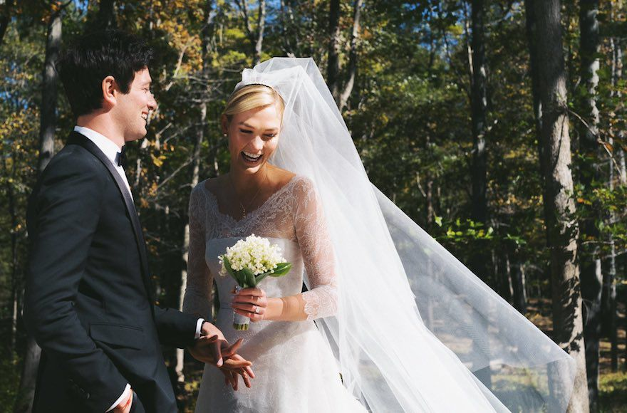 Karlie+Kloss+converted+to+Judaism+before+marrying+Josh+Kushner%2C+the+brother+of+President+Trump%27s+senior+adviser+Jared+Kushner%2C+last+year.+Photo%3A+Robert+Kamau%2FGC+Images