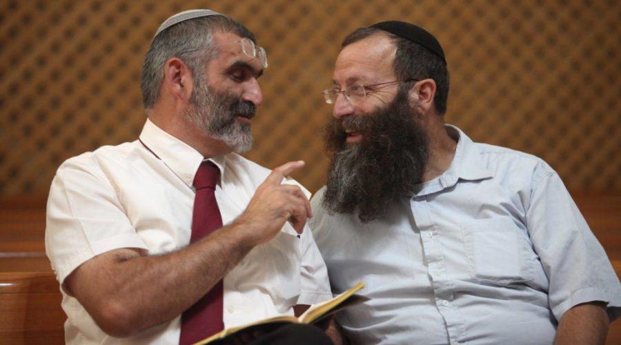 Otzma+Yehudit+party+leaders+Michael+Ben-Ari%2C+left%2C+and+Baruch+Marzel%2C+in+2012.+Photo%3A+Yoav+Ari+Dudkevitch%2FFlash90