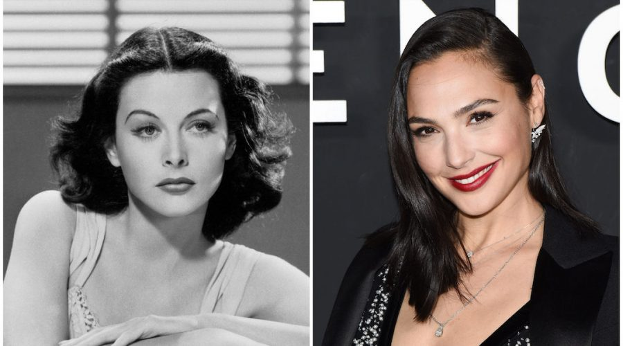 Gal+Gadot%2C+right%2C+will+portray+Hedy+Lamarr+in+a+TV+series.+Photos%3A+Getty+Images