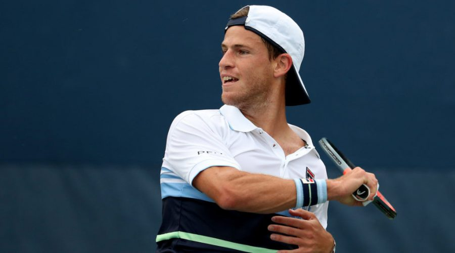 Diego+Schwartzman+returns+a+shot+during+his+match+against+Robin+Haase+at+the+U.S.+Open+at+the+USTA+Billie+Jean+King+National+Tennis+Center+in+Queens%2C+N.Y.%2C+Aug.+27%2C+2019.+%28Al+Bello%2FGetty+Images%29