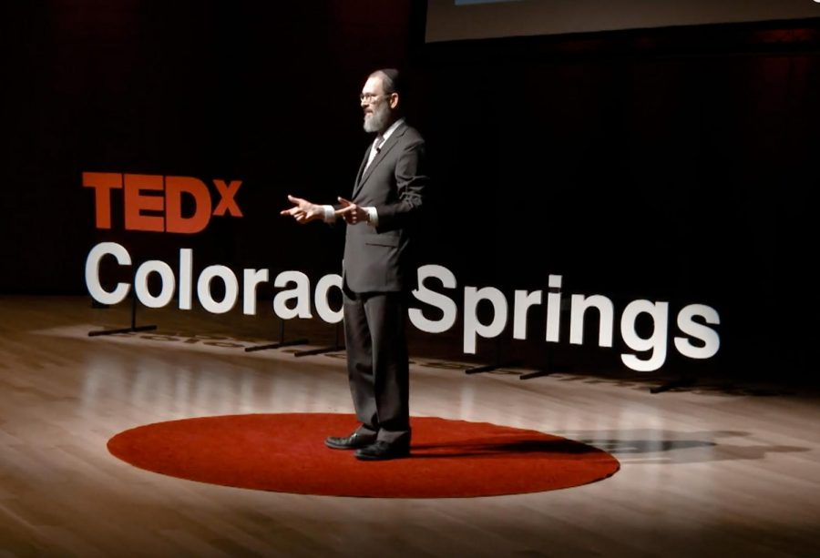 Rabbi+Yonason+Goldson+of+University+City+delivers+a+TEDx+conference+talk+on+%E2%80%98How+I+Became+My+Own+Worst+Nightmare%E2%80%99+in+Colorado+Springs.+IMAGE%3A+YOUTUBE+SCREENSHOT