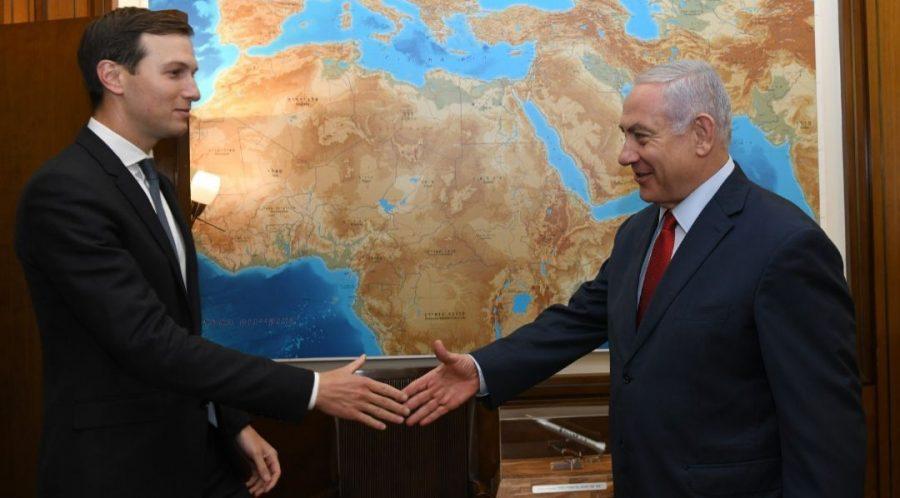 White+House+senior+adviser+Jared+Kushner+and+Israeli+Prime+Minister+Benjamin+Netanyahu+meet+in+Jerusalem+on+July+31%2C+2019.+Photo%3A+Kobi+Gideon%2FGPO%C2%A0