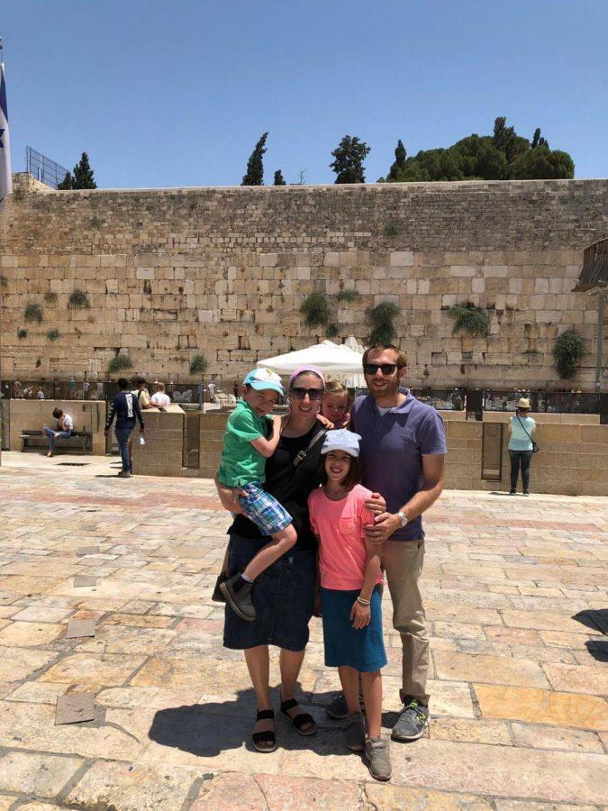 In+July%2C+Judy+and+Josh+Rosenbloom+of+University+City%2C+and+their+children%2C+Nesya%2C+Akiva+and+Nili%2C+made+aliyah.+Here%2C+the+family+is+shown+in+Jerusalem.+Family+photo