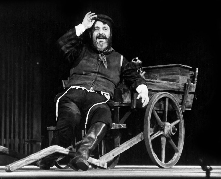 Zero Mostel in the original Broadway production of Fiddler on the Roof.