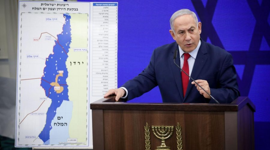 Israeli+Prime+Minister+Benjamin+Netanyahu+announces+that+if+he+is+re-elected%2C+he+will+make+the+Jordan+Valley+a+sovereign+part+of+Israel%2C+Sept.+10%2C+2019.+%28Hadas+Parush%2FFlash90%29