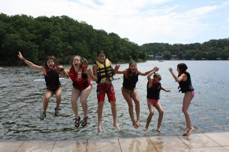 Kids+attending+the+J%E2%80%99s+Camp+Sabra+have+fun+at+the+dock.+File+Photo