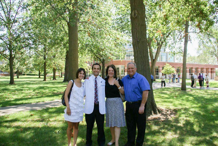 A+2011+photo+shows+the+Dietl+family+on+Kevin+Dietl%E2%80%99s+first+day+at+A.T.+Still+University+Osteopathic+Medical+School+in+Kirksville.+From+left+are+Diana%2C+Kevin%2C+Michele+and+John+Dietl.+Kevin+Dietl+took+his+own+life+on+April+23%2C+2015%2C+a+few+weeks+before+his+medical+school+graduation.+The+Dietl%E2%80%99s+story+is+included+in+a+documentary%2C+%E2%80%98Do+No+Harm%2C%E2%80%99+which+will+screen+in+St.+Louis+Oct.+15+and+16.%C2%A0