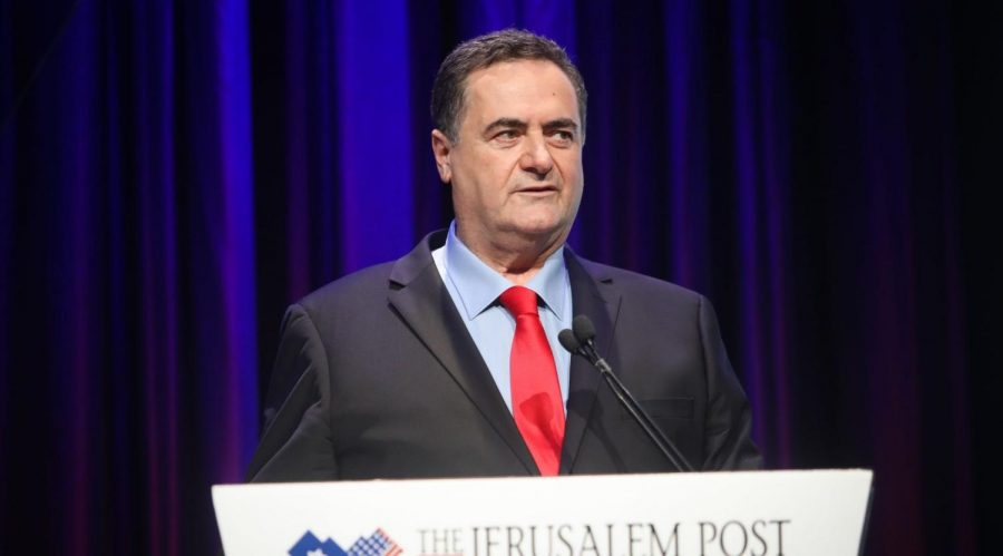 Israeli+Foreign+Minister+Israel+Katz+tells+reporters+on+the+sidelines+of+hte+Jerusalem+Post+conference+on+June+16%2C+2019+that+Israel+will+participate+in+the+Bahrain+economic+peace+summit.+Pool+photo%2FMarc+Israel+Sellem+via+Flash90