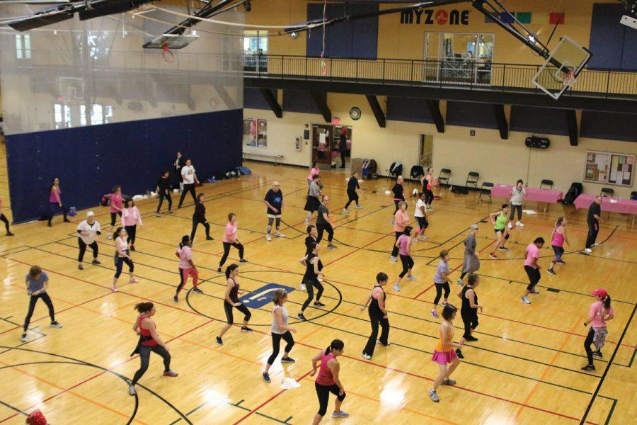 Pink+Out+at+the+J+offers+morning+of+exercise%2C+education+and+wellness
