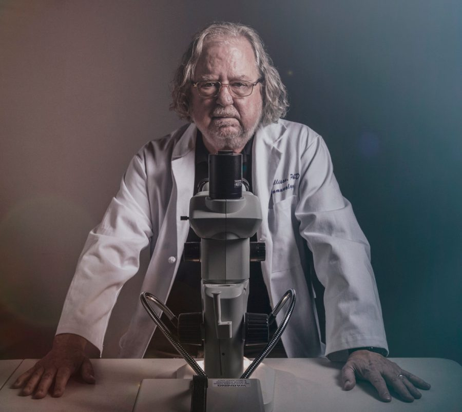The+new+documentary+%E2%80%98Jim+Allison%3A+Breakthrough%E2%80%99+looks+at+the+medical+researcher+who+won+a+Nobel+Prize+for+his+work+on+immunotherapy+treatments+for+cancer.%C2%A0