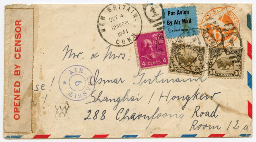 Letter+from+the+Shanghai+Ghetto