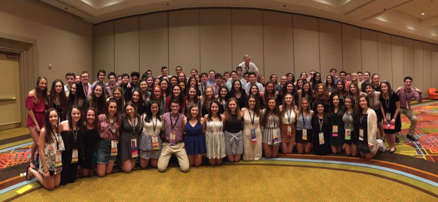 Fifty-one teens from St. Louis and 50 others from BBYO's Mid-America Region took part in BBYO's International Convention in 2018.