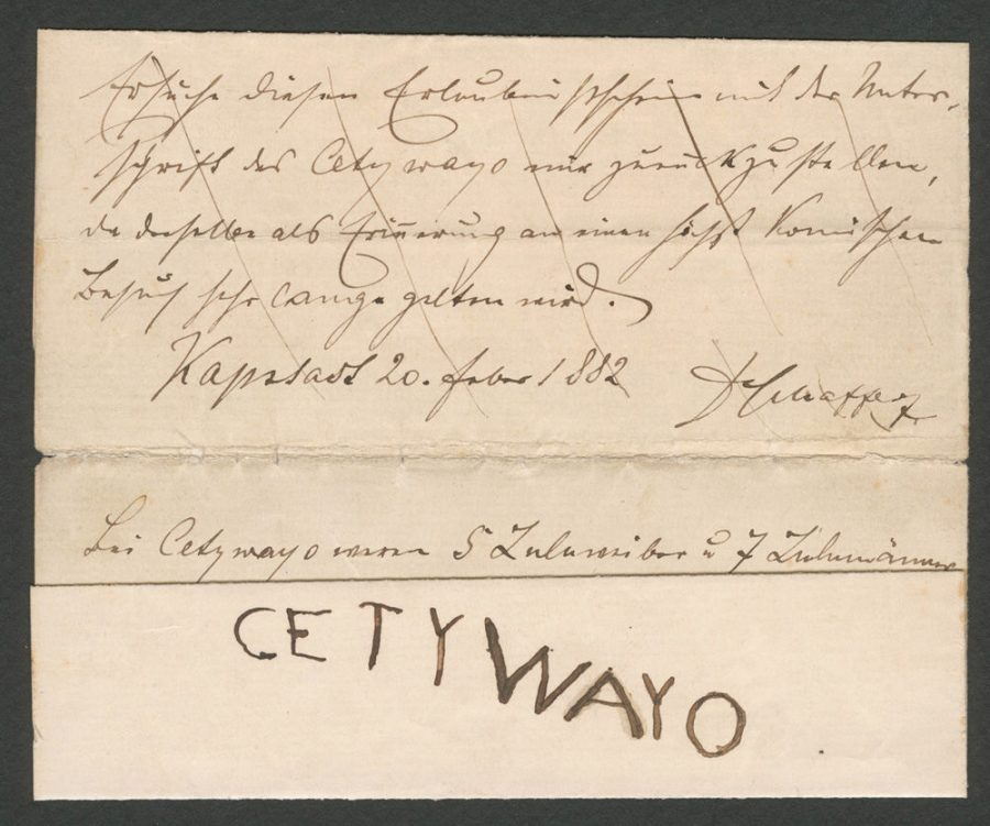 1882+Letter+from+Anglo-Zulu+War