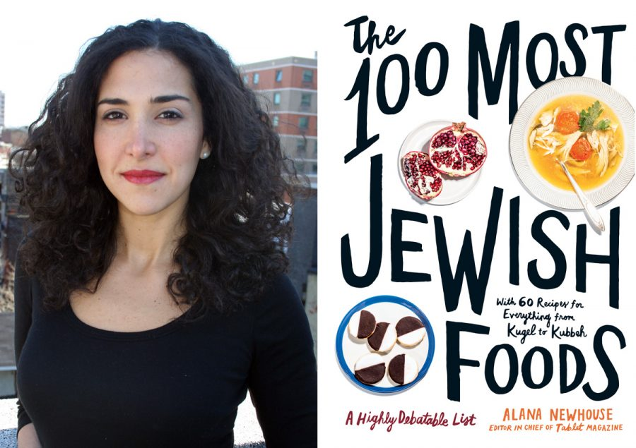 Alana+Newhouse%2C+editor+of+%E2%80%9CThe+100+Most+Jewish+Foods%3A+A+Highly+Debatable+List%2C%E2%80%9D+is+speaking+at+a+St.+Louis+Jewish+Book+Festival+event+on+Sunday%2C+Nov.+10%2C+held+at+the+Mirowitz+Center+at+Covenant+Place.
