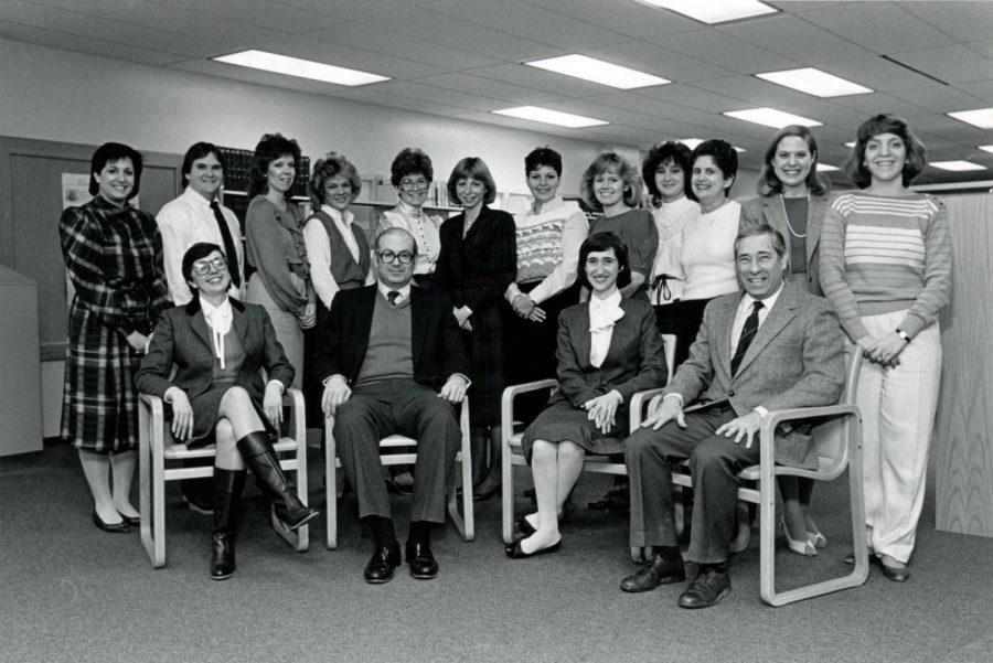 Bob+Cohn+and+Jewish+Light+staff+in+1985