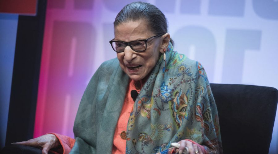 Supreme+Court+Justice+Ruth+Bader+Ginsburg+participates+in+a+discussion+during+the+Library+of+Congress+National+Book+Festival+at+the+Walter+E.+Washington+Convention+Center%2C+Aug.+31%2C+2019.+%28Tom+Williams%2FCQ+Roll+Call%2FGetty+Images%29